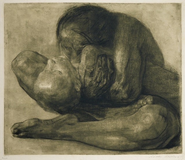 Käthe Kollwitz, 'Woman with Dead Child', 1903, Art Resource