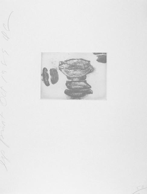 , 'Lip Print #4,' 1989, Zane Bennett Contemporary Art