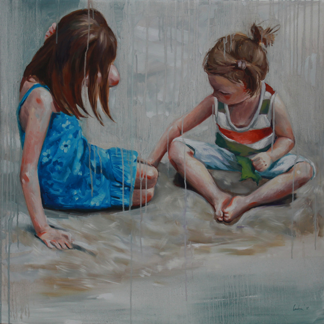 Cveta Markova, 'Two Girls', 2018, Galerie Barbara von Stechow