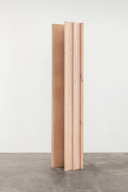 , 'Rising column, a sense of absence,' 2017, Baert Gallery