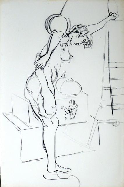 , 'Kraftakt,' 1985, Galerie Ostendorff