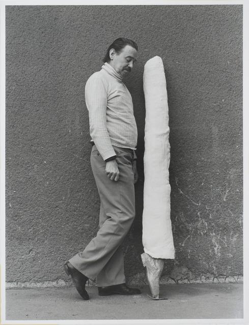 , 'Franz West: Otto Kobalek,' 1974, Raum mit Licht