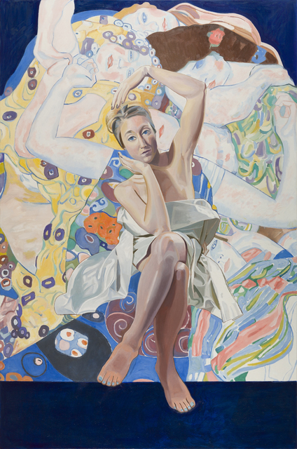 , 'Samantha and Klimt,' 2015, Childs Gallery