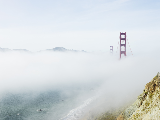 , 'Golden Gate, San Francisco, California,' 2014, Galerie Nikolaus Ruzicska