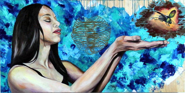 , 'Bind My Heart to Silence,' 2014, Bitfactory Gallery