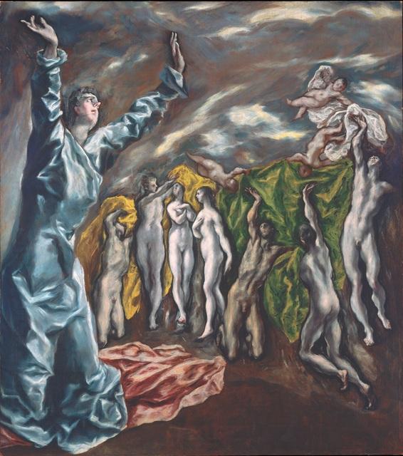, 'The Vision of Saint John,' 1608-1614, The Metropolitan Museum of Art