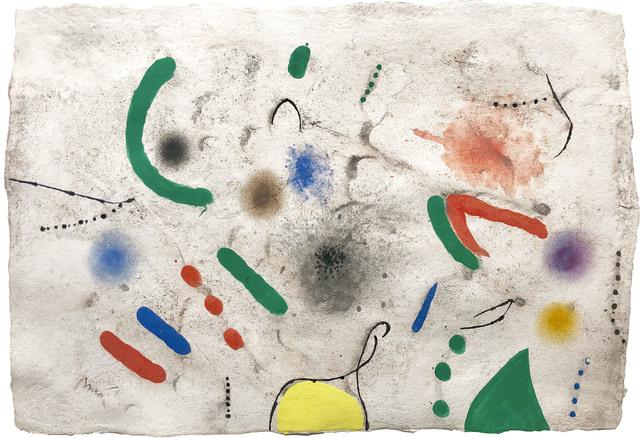 Joan Miró, 'Untitled', 1970, Galeria Jordi Pascual