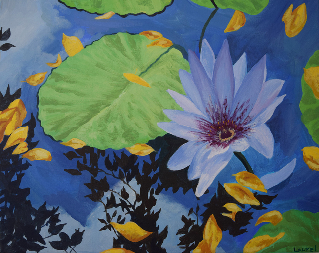 , 'Water Lilies of Central Park,' 2019, Fountain House Gallery