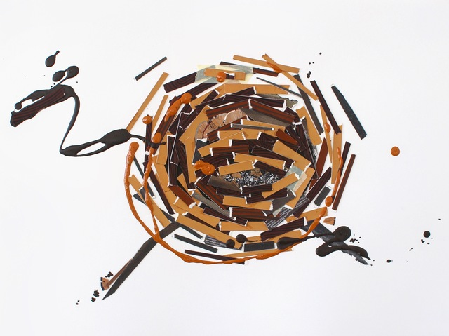 , 'Construction (no. 4),' 2015, Open Mind Art Space