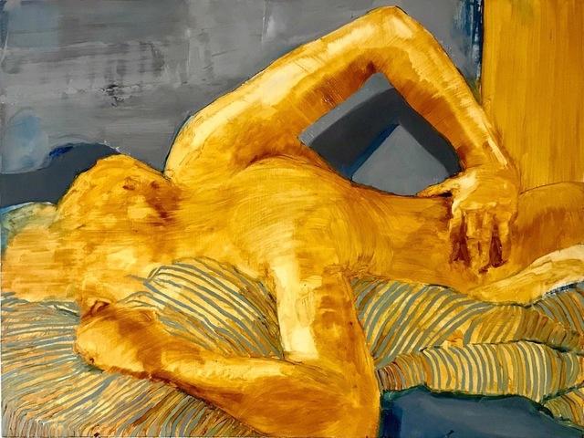 , 'Back Rub ,' 2018, Susan Eley Fine Art