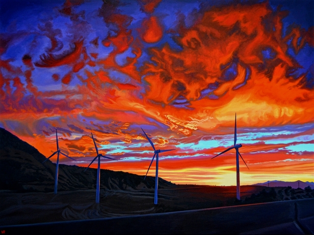 , 'Quixote's Freeway,' 2017, Kurbatoff Gallery