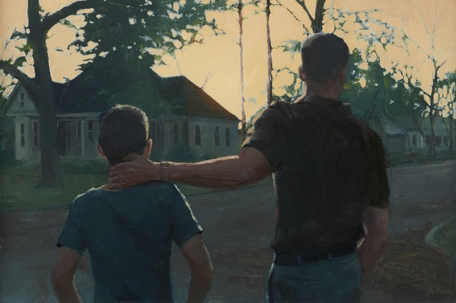 , 'Father and Son,' 2014, Paul Thiebaud Gallery