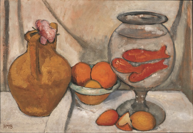 , 'Nature Morte au Bocal de Poissons Rouges ,' May/June 1906, Musée d'Art Moderne de la Ville de Paris