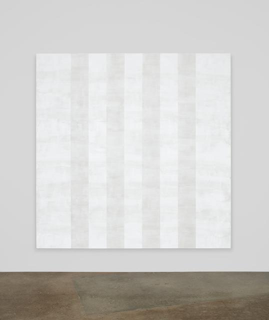 , 'Untitled (White Multiband, Beveled),' 2012, Kayne Griffin Corcoran