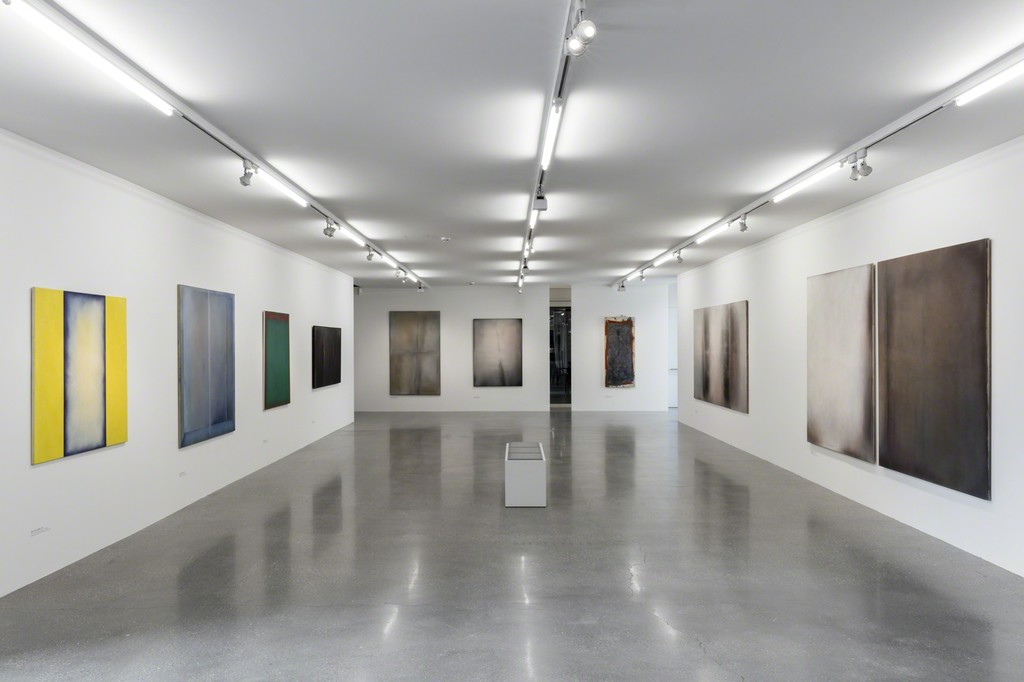 "Exhibition View ""Rudolf Goessl. Painting in Transition""