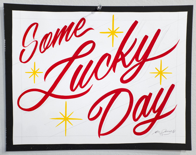 , 'Some Lucky Day,' 2015, ANNO DOMINI