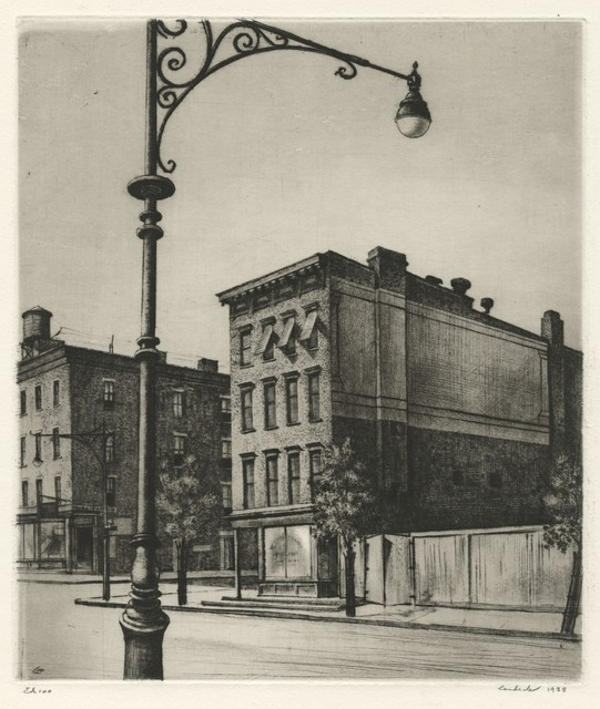 , 'York Avenue Tenements,' 1938, Childs Gallery