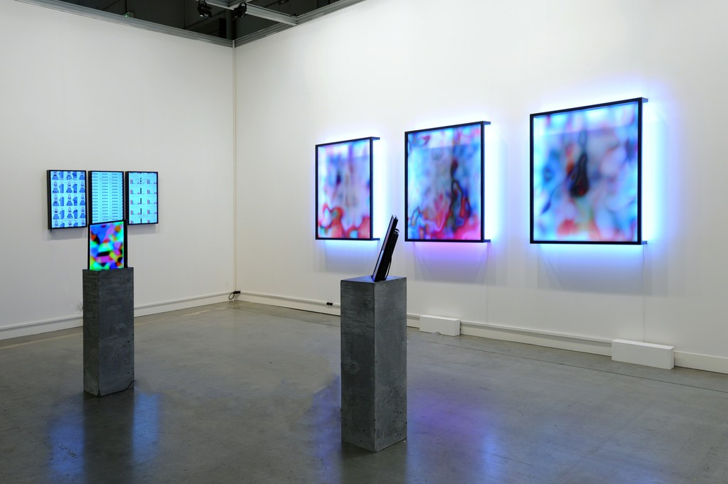 Jonas Lund. miart, Milan, Installation view, Steve Turner, April 2016
