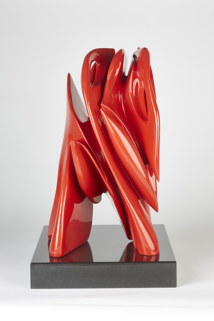 Pablo Atchugarry, 'Untitled', 2019, Sculpture, Bronze with automotive paint, Pontone Gallery