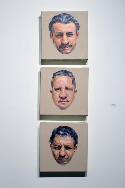 , 'Profiles,' 2007, Gallery at Zhou B Art Center