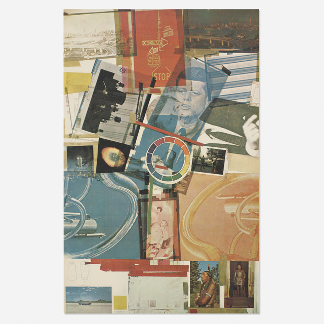 Robert Rauschenberg, 'Core Poster', 1965, Posters, Offset color lithograph and screenprint with varnish on wove paper, Rago/Wright