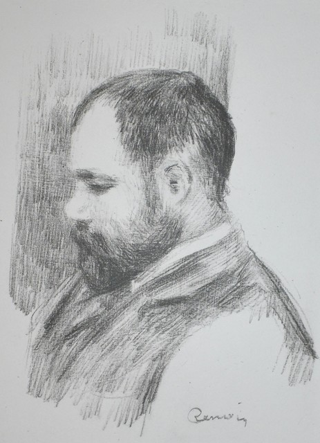 Pierre-Auguste Renoir, 'Ambroise Vollard', 1919, Georgetown Frame Shoppe