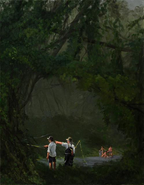 , 'Tight Lines,' 2016, Barney Savage Gallery