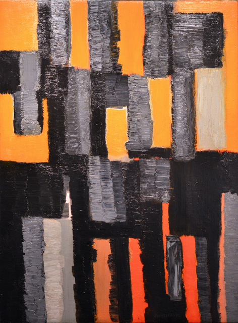 , 'Crépuscule,' 1956, Canadian Art Group