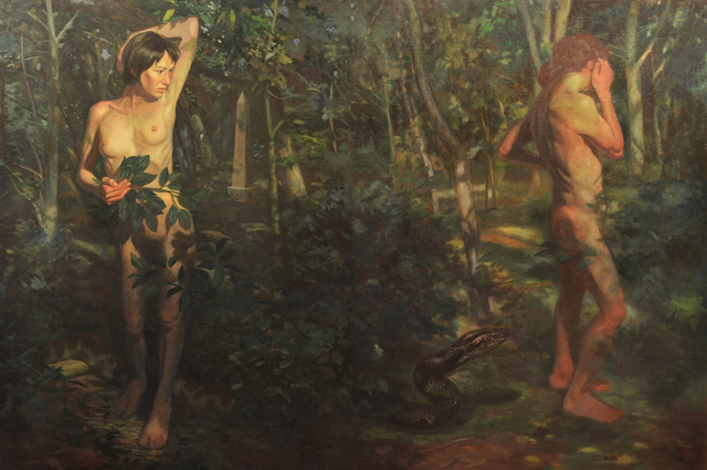 , 'Adam and Eve in Brooklyn,' 2016, Grenning Gallery