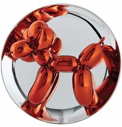 Orange Balloon Dog