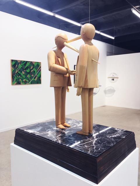 , 'Politicians,' 2018, Fabien Castanier Gallery