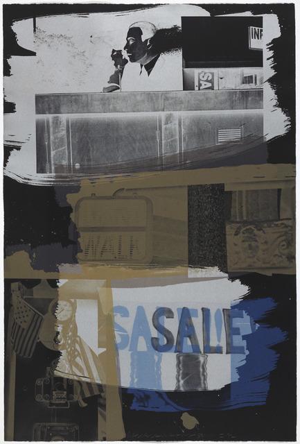 Robert Rauschenberg, 'Fence', 1992, Gemini G.E.L.