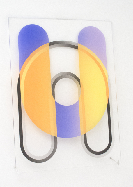 , '(untitled - overlapping curved stadia),' 2017, Galleri Urbane