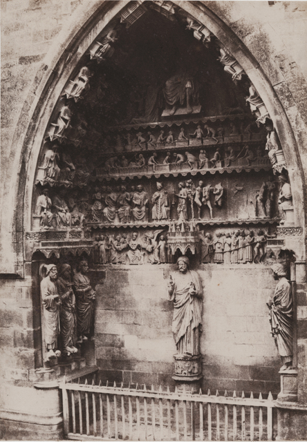 Charles Marville, 'Cathedrale de Reims (Portail)', 1853/1853, Contemporary Works/Vintage Works