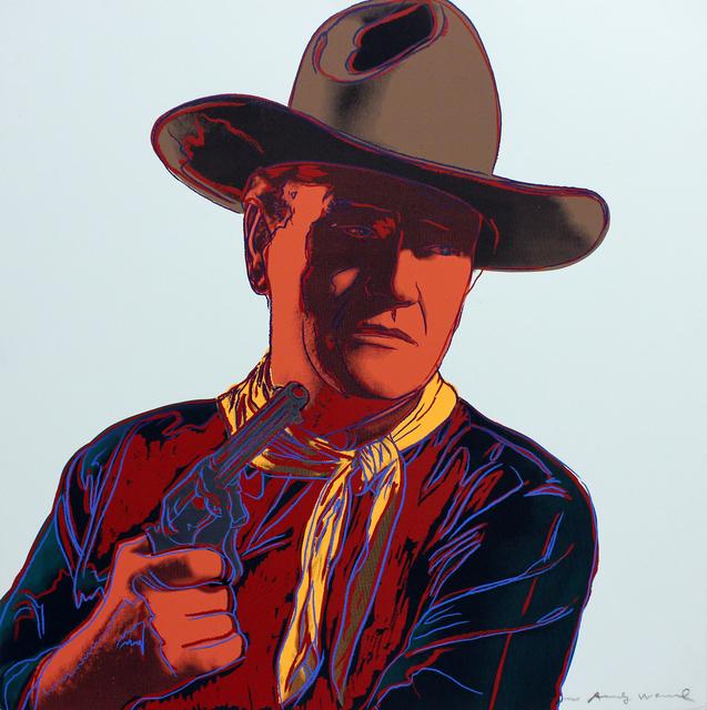 , 'John Wayne (FS II.377),' 1986, Gormleys Fine Art