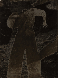 Maurice Tabard, 'Untitled (experimental self-portrait with shadow),' late 1930s, Phillips: The Odyssey of Collecting