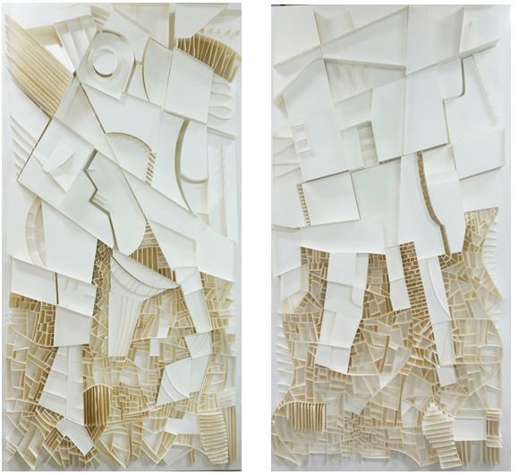 , 'Dencity I,II,' 2015, Gallery Mee