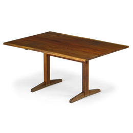 Small Trestle dining table, New Hope, PA