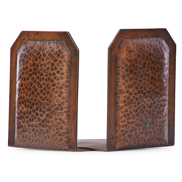 Gustav Stickley, 'Bookends, Eastwood, NY', Early 20th C., Rago/Wright