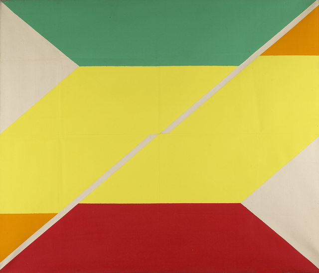 , 'Diagonal IV,' 1967, Berry Campbell Gallery