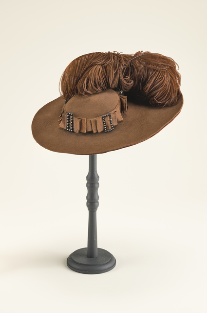 , 'Woman's hat,' ca. 1892, Legion of Honor