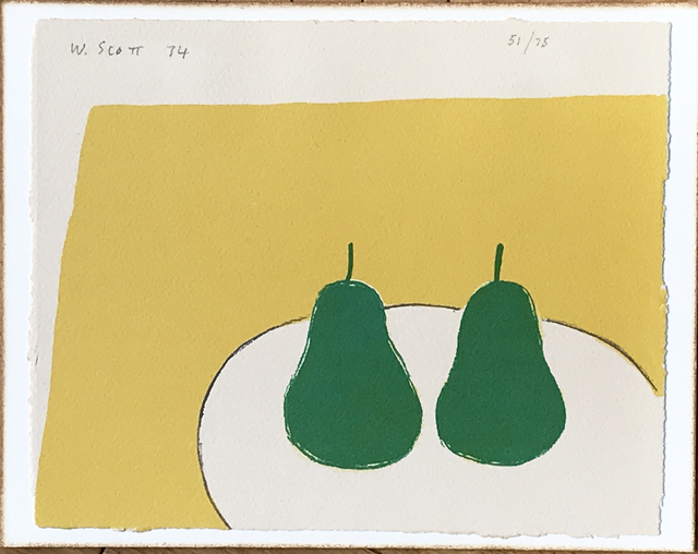 , 'Two Green Pears (Green Pears),' 1974, Fairhead Fine Art Limited