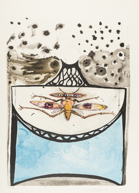 Salvador Dalí, 'Anamorphoses (M & L 1363-1367a; Field 72-1)', 1972, Print, The complete set of five lithographs printed in colours, together with the polished steel viewing cylinder, Forum Auctions
