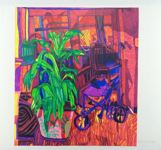 , 'Extra Wheelchair,' 2018, Galerija VARTAI