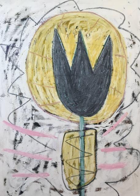 , 'Howling Tulip,' 2017, Madelyn Jordon Fine Art