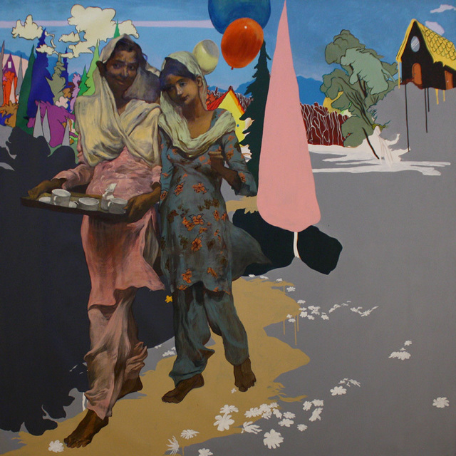 , 'Untitled (Servant with Girl),' 2010, Aicon Gallery