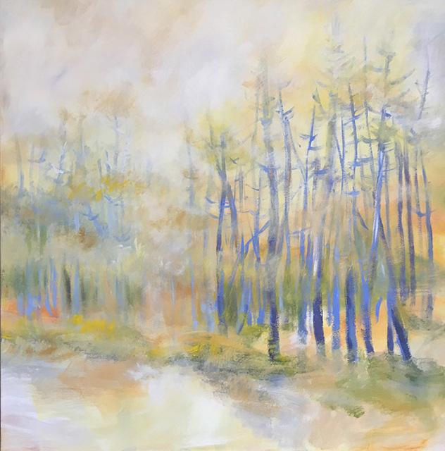, 'Woodand Walk,' 2018, Galerie d'Orsay