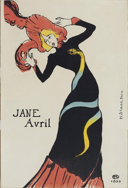 , 'Jane Avril,' 1899, Guggenheim Museum Bilbao