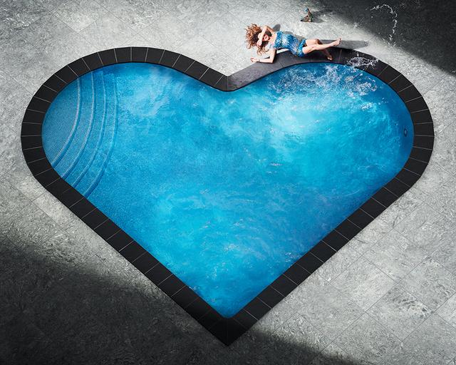 David Drebin, 'Splashing Heart', 2018, Contessa Gallery