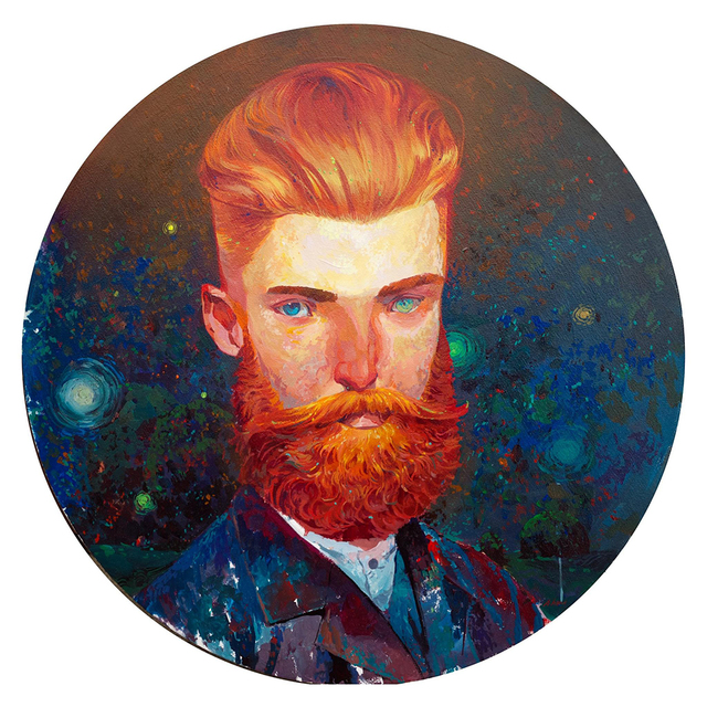 , 'Hipster Van Gogh,' 2016, Spoke Art